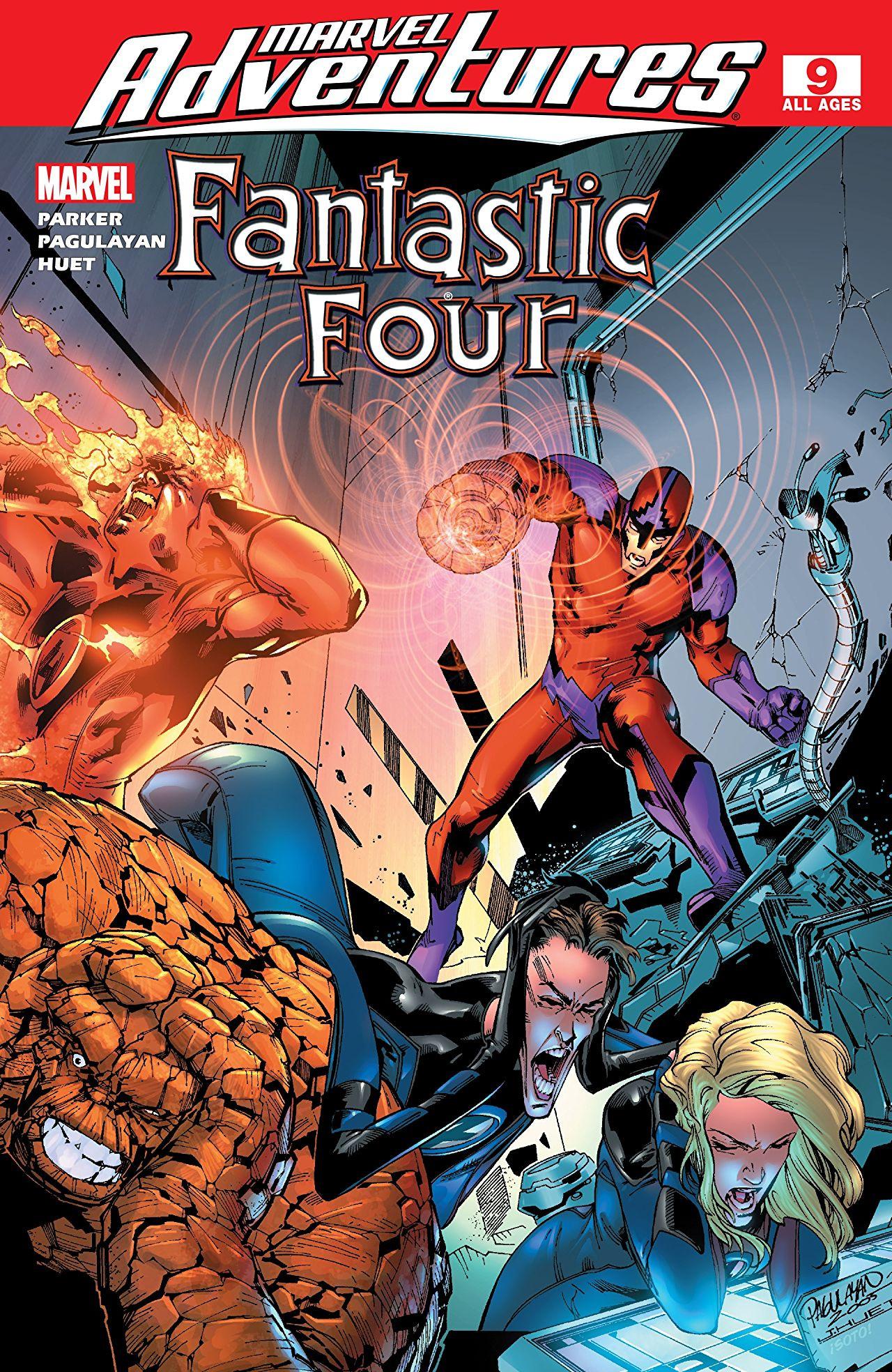 Marvel Adventures: Fantastic Four Vol 1 9
