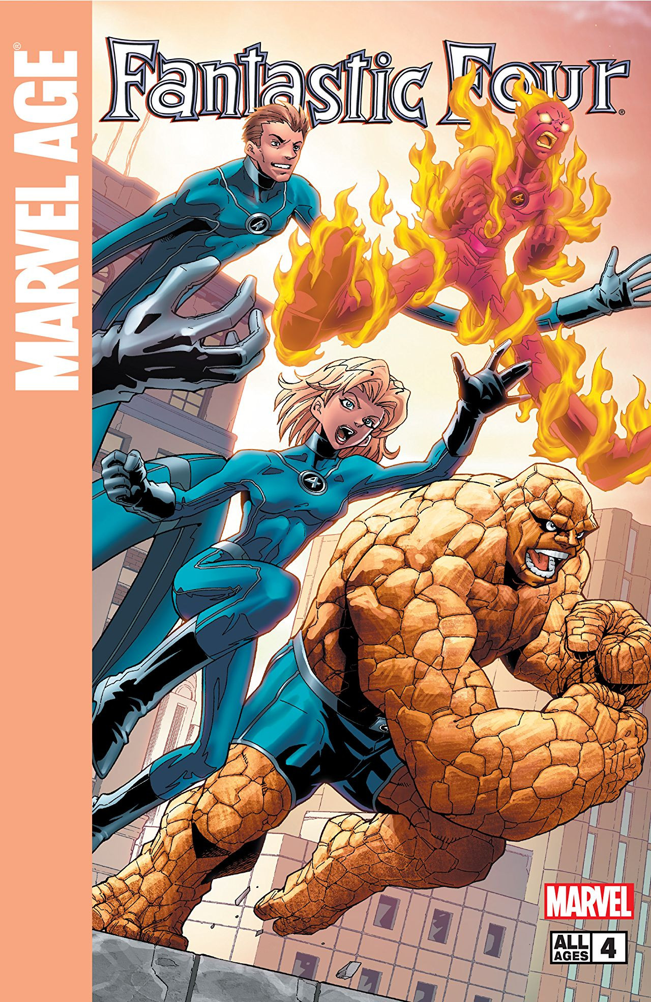 Marvel Age: Fantastic Four Vol 1 4