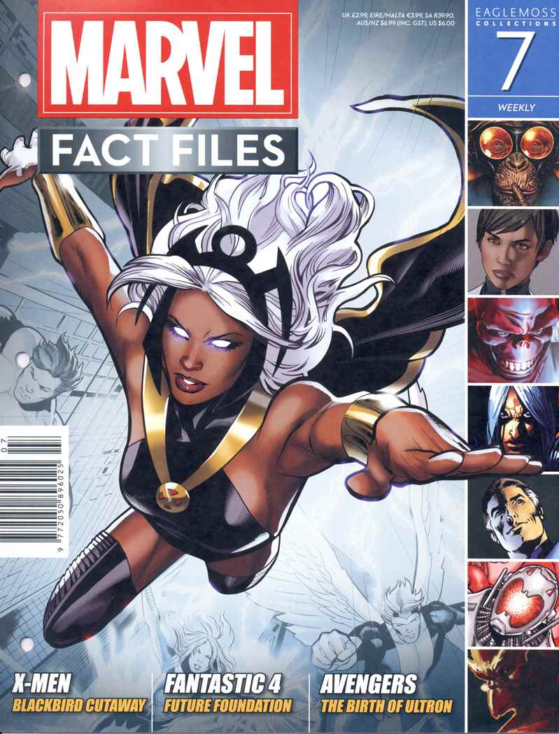 Marvel Fact Files Vol 1 7