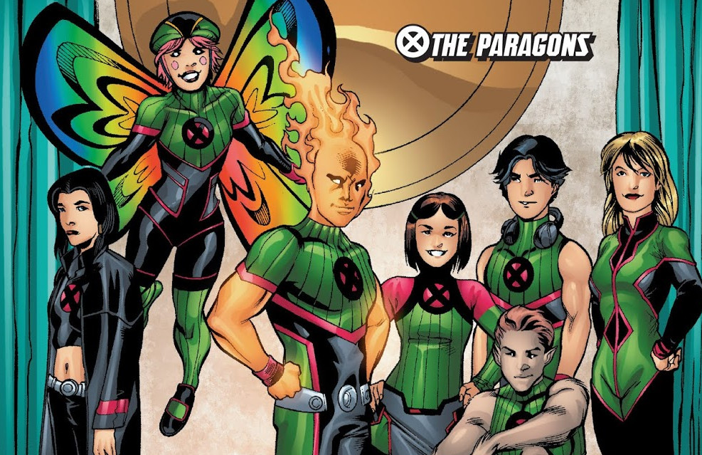 Paragons Squad (Earth-616)/Gallery