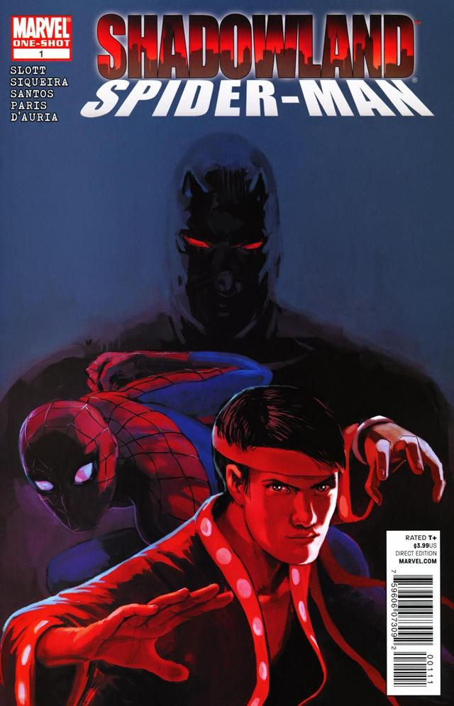 Shadowland: Spider-Man Vol 1 1
