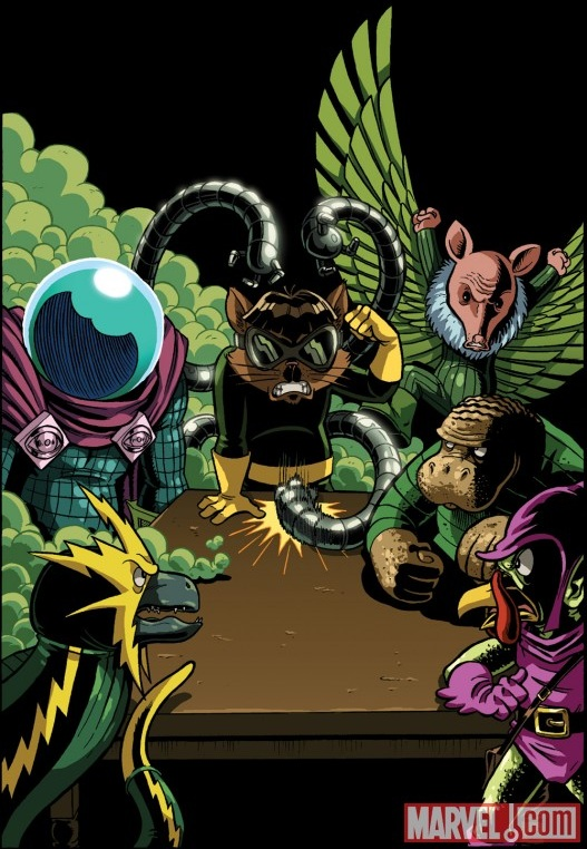Swinester Six (Earth-25) from Spider-Ham 25th Anniversary Special Vol 1 1 001.jpg
