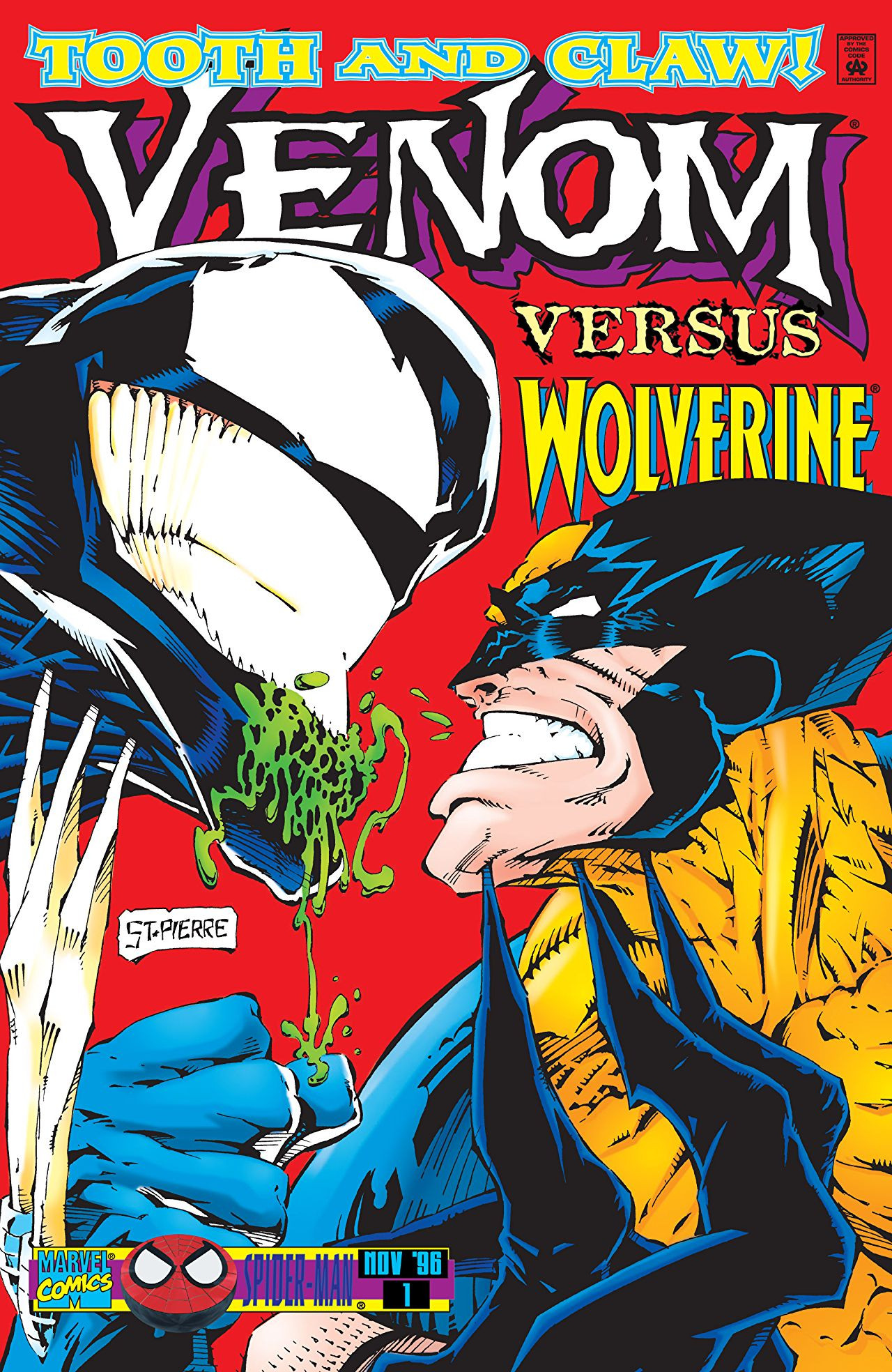 Venom: Tooth and Claw Vol 1 1