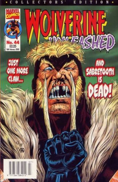 Wolverine Unleashed Vol 1 44