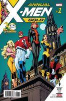 X-Men Gold Annual Vol 1 1