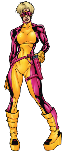 Zoe Culloden (Earth-616) from Deadpool Corps Rank and Foul Vol 1 1 0001.png