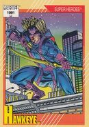 Clinton Barton (Earth-616) from Marvel Universe Cards Series II 0001