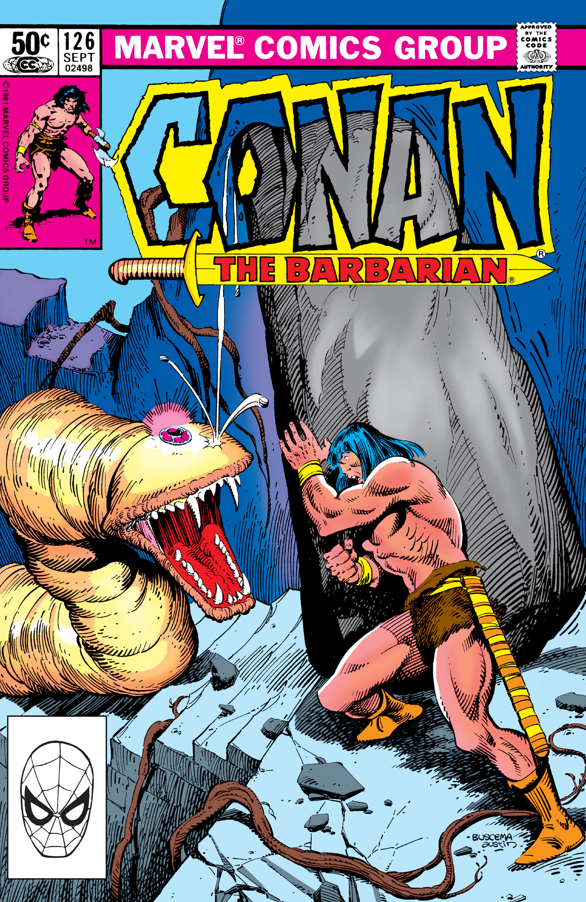 Conan the Barbarian Vol 1 126