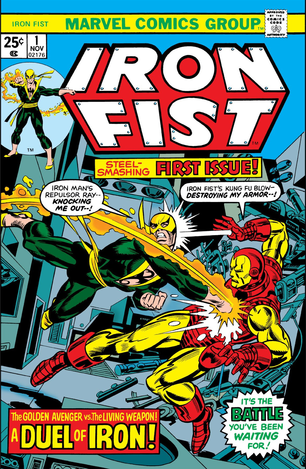 Iron Fist Vol 1 1