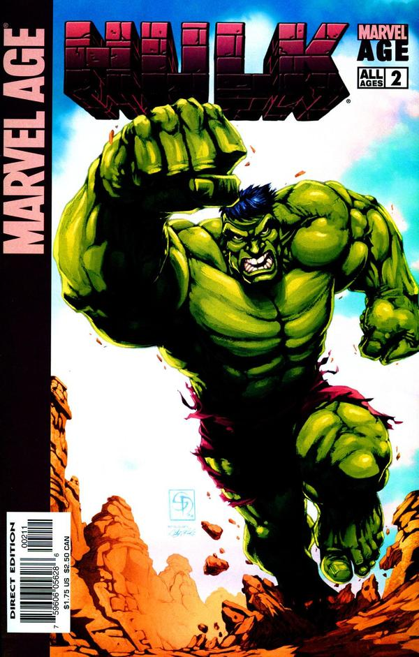 Marvel Age: Hulk Vol 1 2