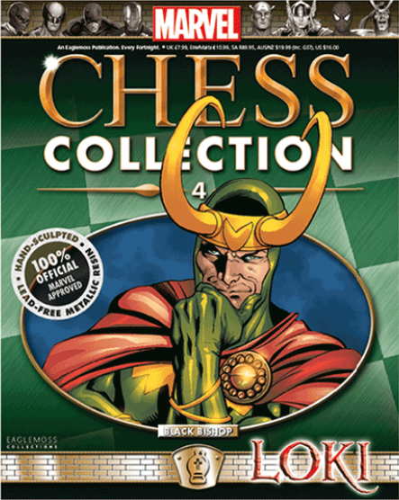 Marvel Chess Collection Vol 1 4