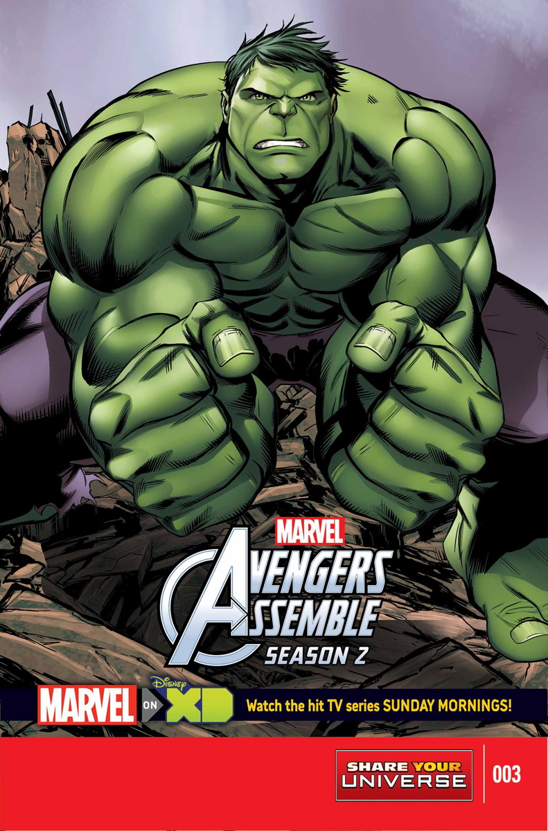 Marvel Universe Avengers Assemble Season Two Vol 1 3
