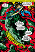Mister Fantastic lost in the Negative Zone from Fantastic Four Vol 1 62