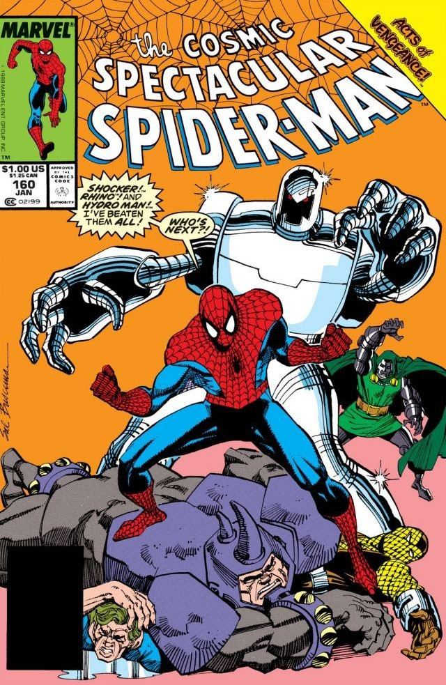 Spectacular Spider-Man Vol 1 160