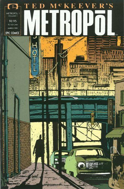 Ted McKeever's Metropol Vol 1