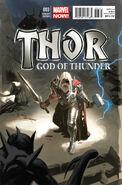 Thor God of Thunder Vol 1 3 Daniel Acuña Variant