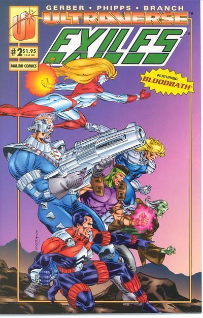 Ultraverse Exiles Vol 1 2