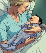 Amanda Armstrong (Earth-616) and Anthony Stark (Earth-616) from Iron Man 2020 Vol 2 4 001
