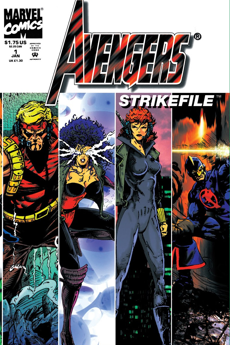 Avengers: Strikefile Vol 1 1