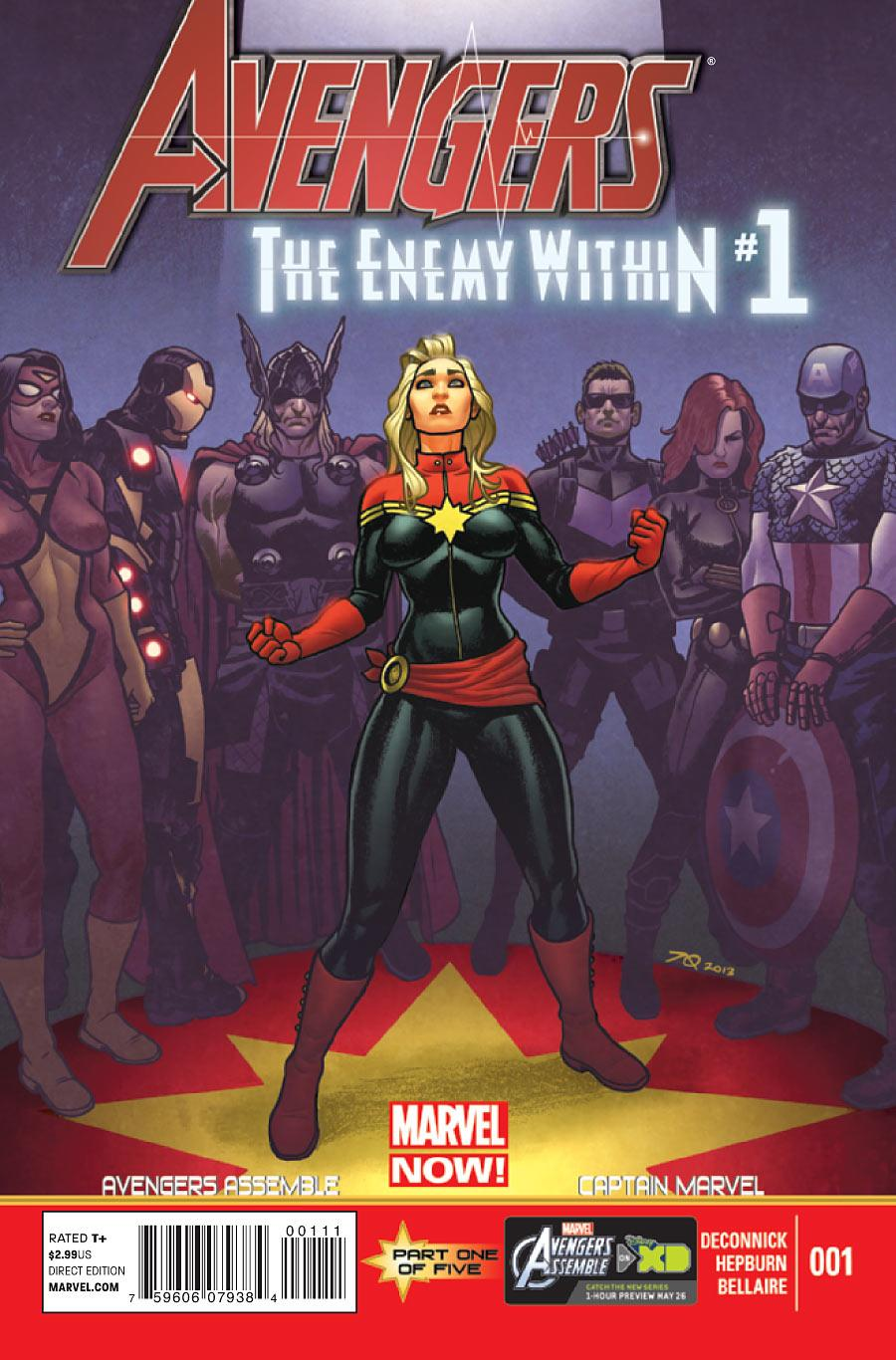 Avengers: The Enemy Within Vol 1 1