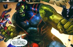 Bruce Banner (Earth-93074) from What If? X-Men Age of Apocalypse Vol 1 1 0001.jpg