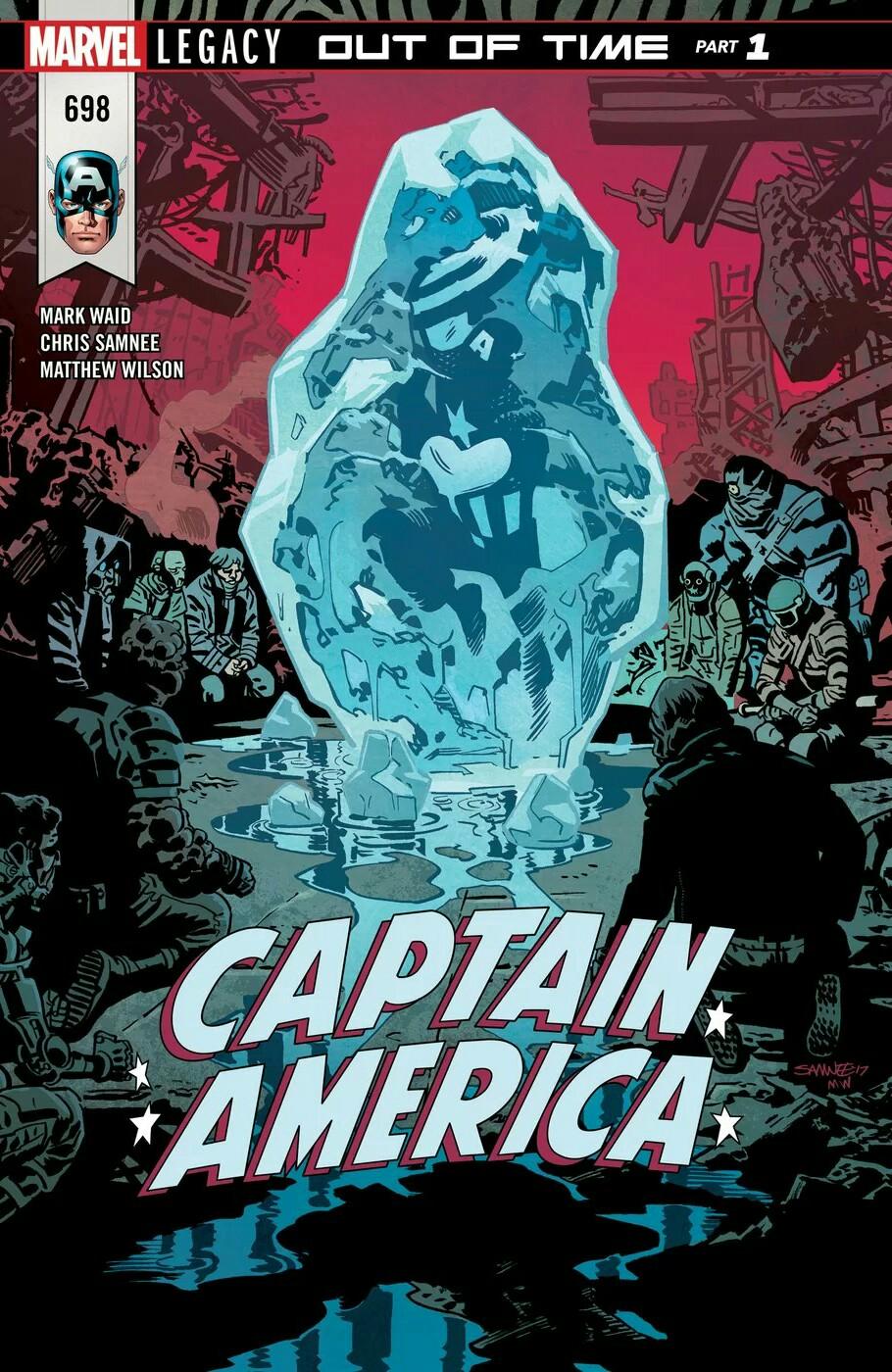 Captain America Vol 1 698
