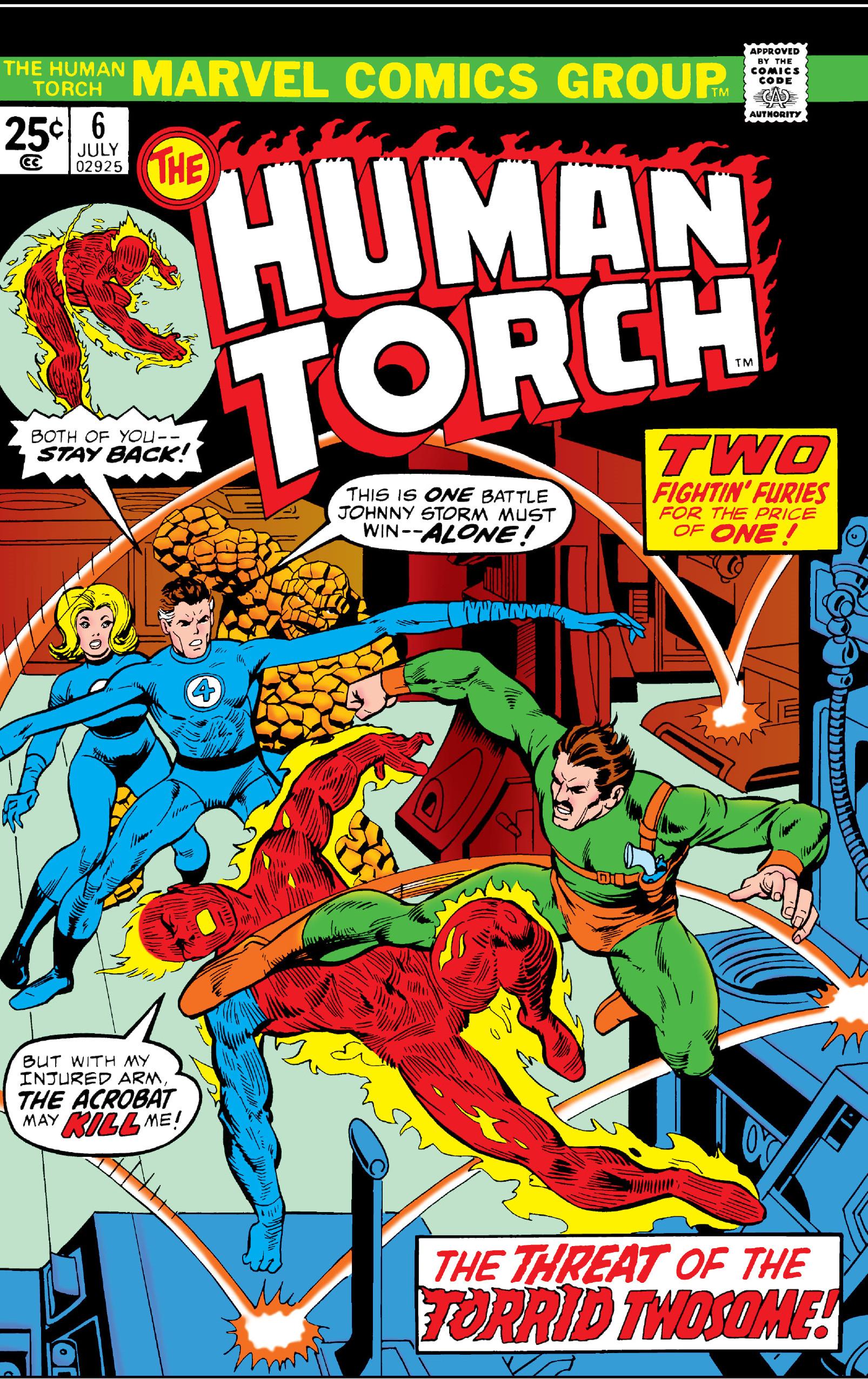 Human Torch Vol 2 6