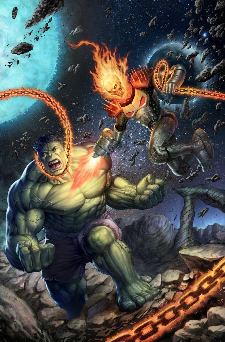Immortal Hulk Vol 1 6 Cosmic Ghost Rider Vs. Variant Textless.jpg