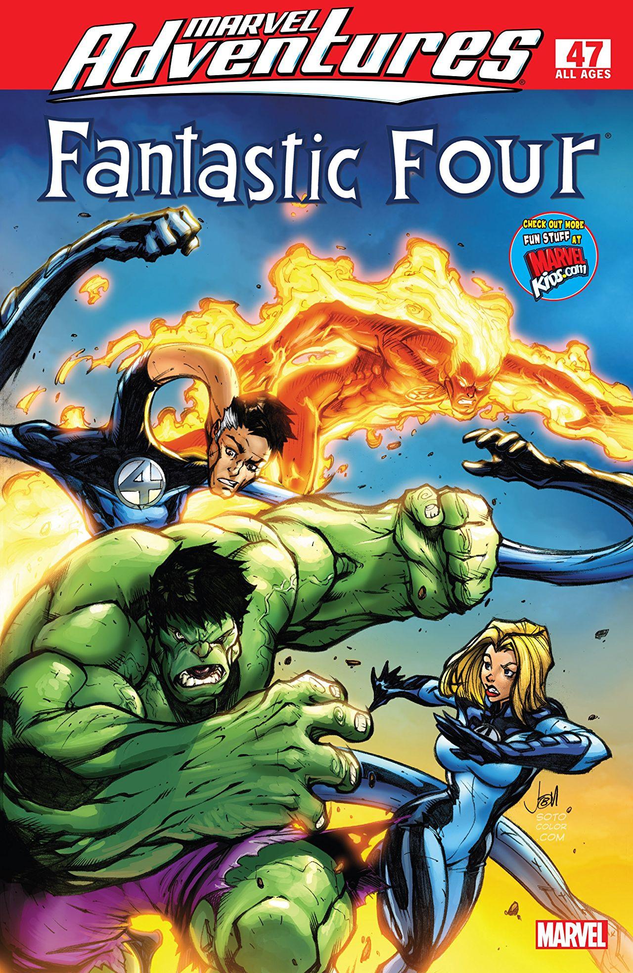 Marvel Adventures: Fantastic Four Vol 1 47