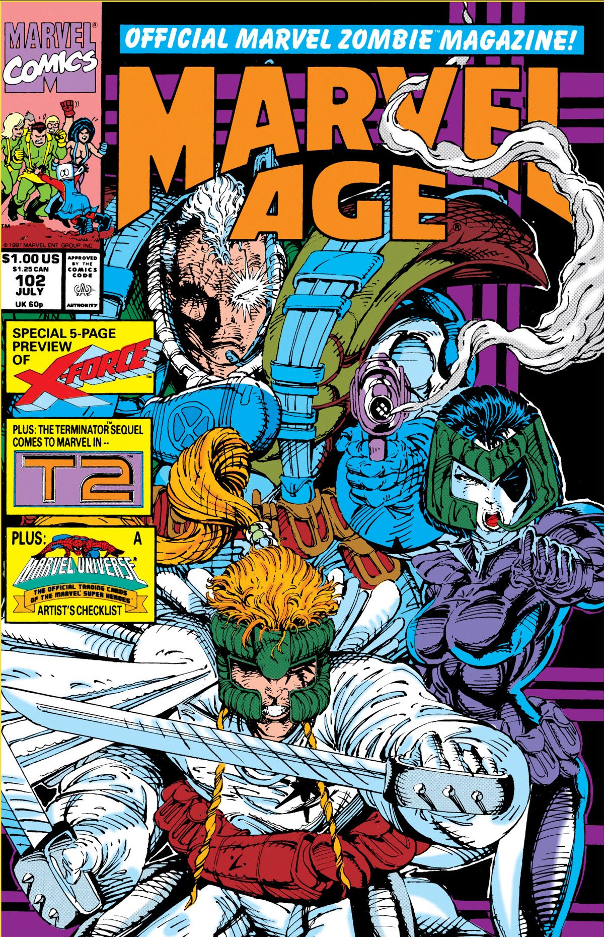 Marvel Age Vol 1 102