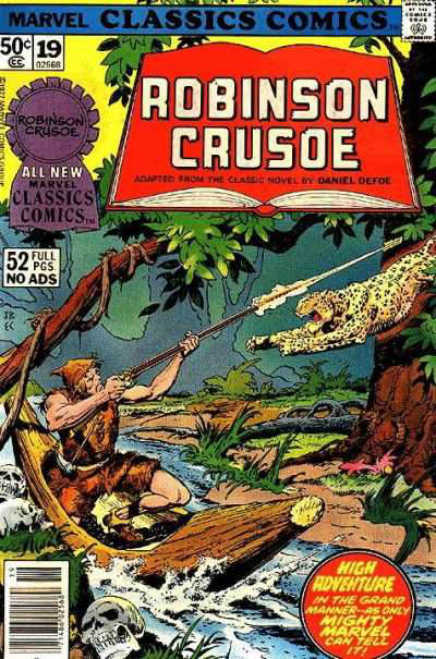 Marvel Classics Comics Series Featuring Robinson Crusoe Vol 1 1