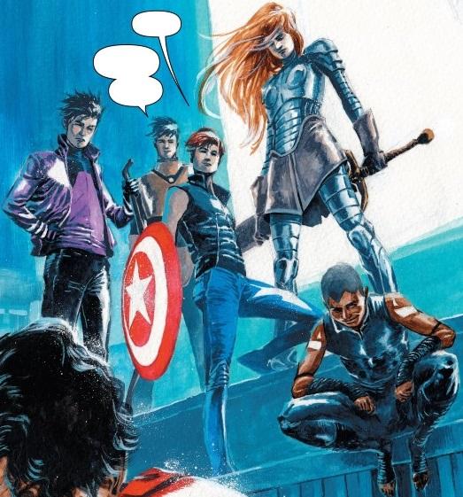 Next Avengers (Earth-TRN591)/Gallery