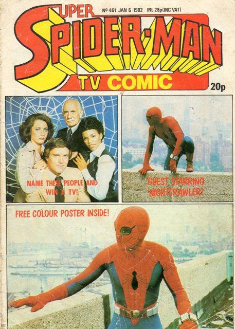 Super Spider-Man TV Comic Vol 1 461