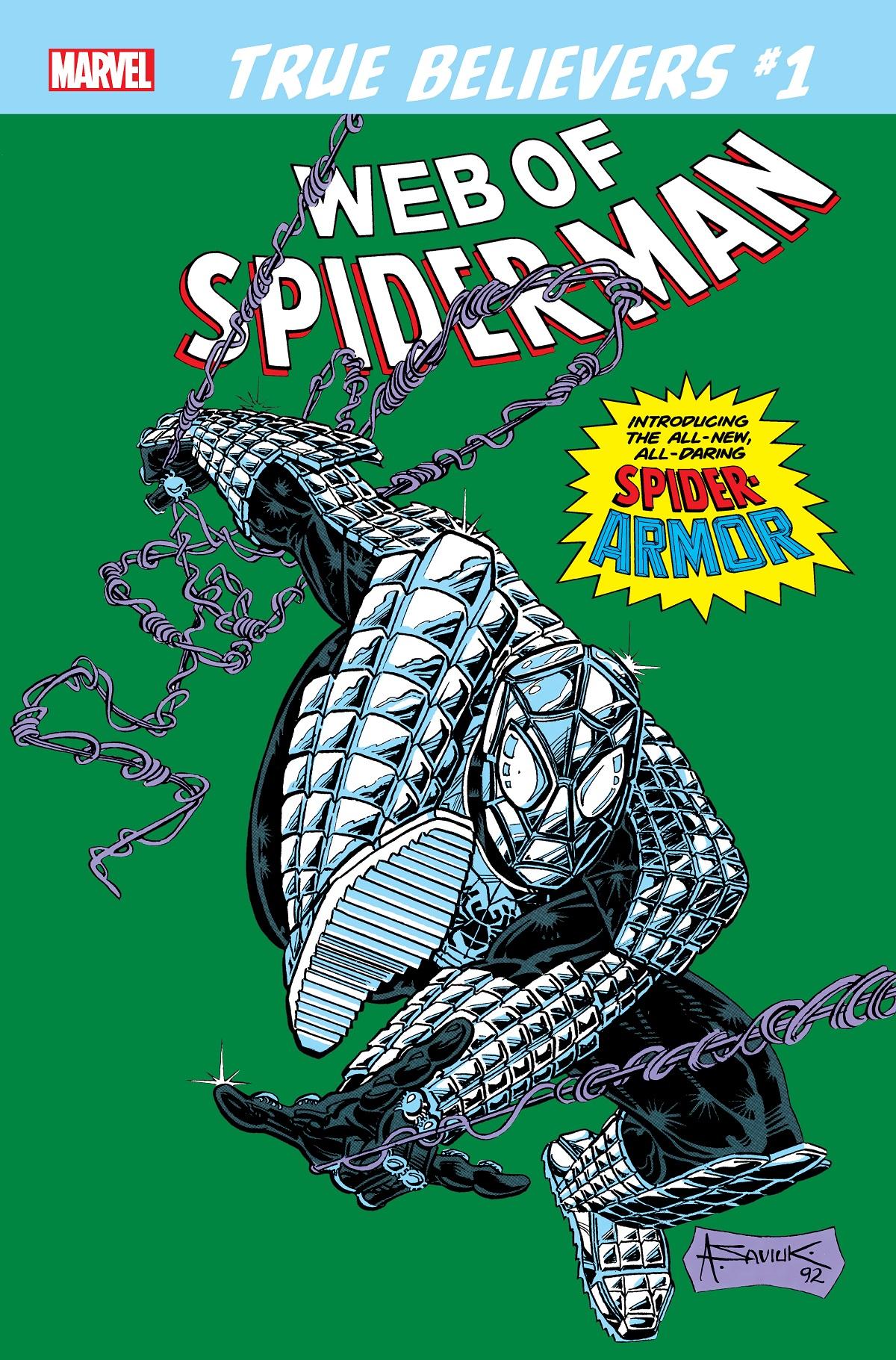 True Believers: Spider-Man - Spider-Armor Vol 1 1