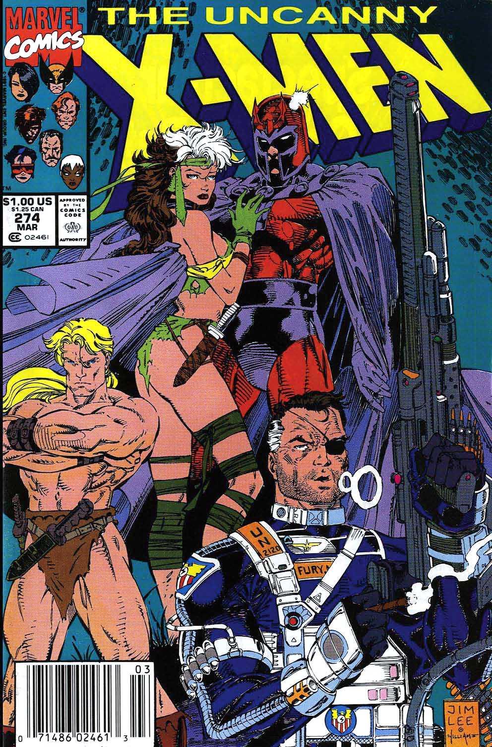 Uncanny X-Men Vol 1 274