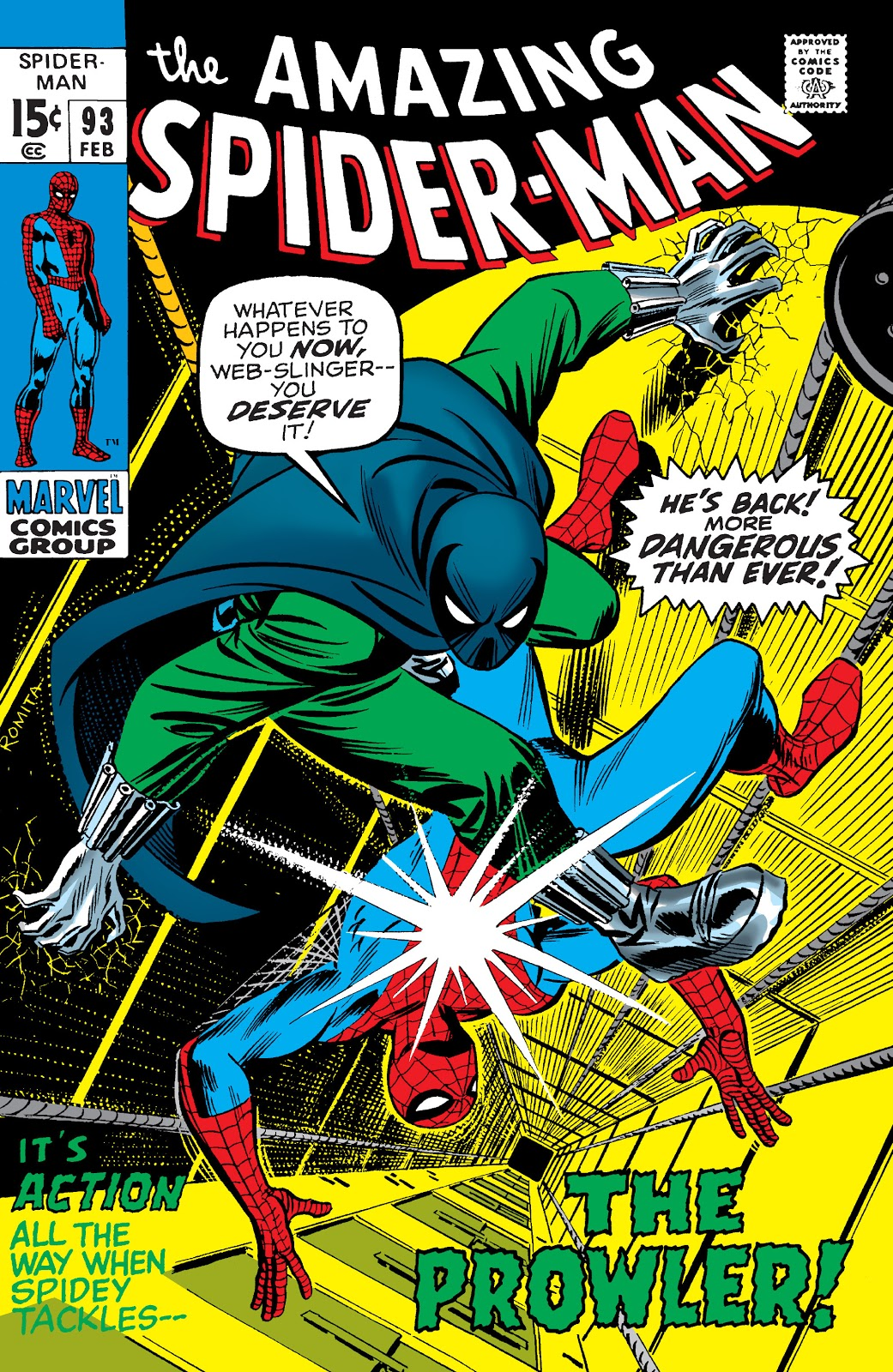 Amazing Spider-Man Vol 1 93