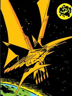 Andromeda (Starship) from Incredible Hulk Vol 1 136 0001.jpg