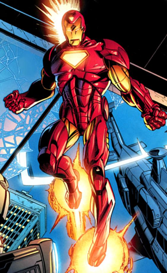 Iron Man Armor (Pre-Ultimatum) (Earth-1610)