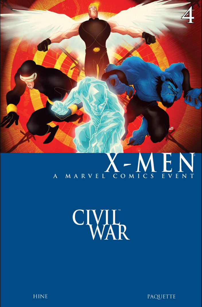 Civil War: X-Men Vol 1 4