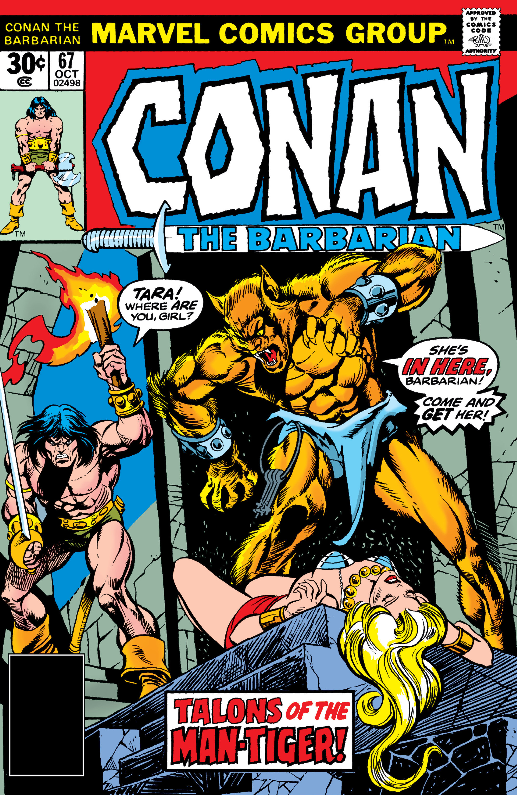 Conan the Barbarian Vol 1 67