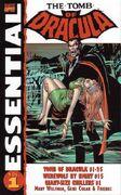 Essential Series Tomb of Dracula Vol 1 1