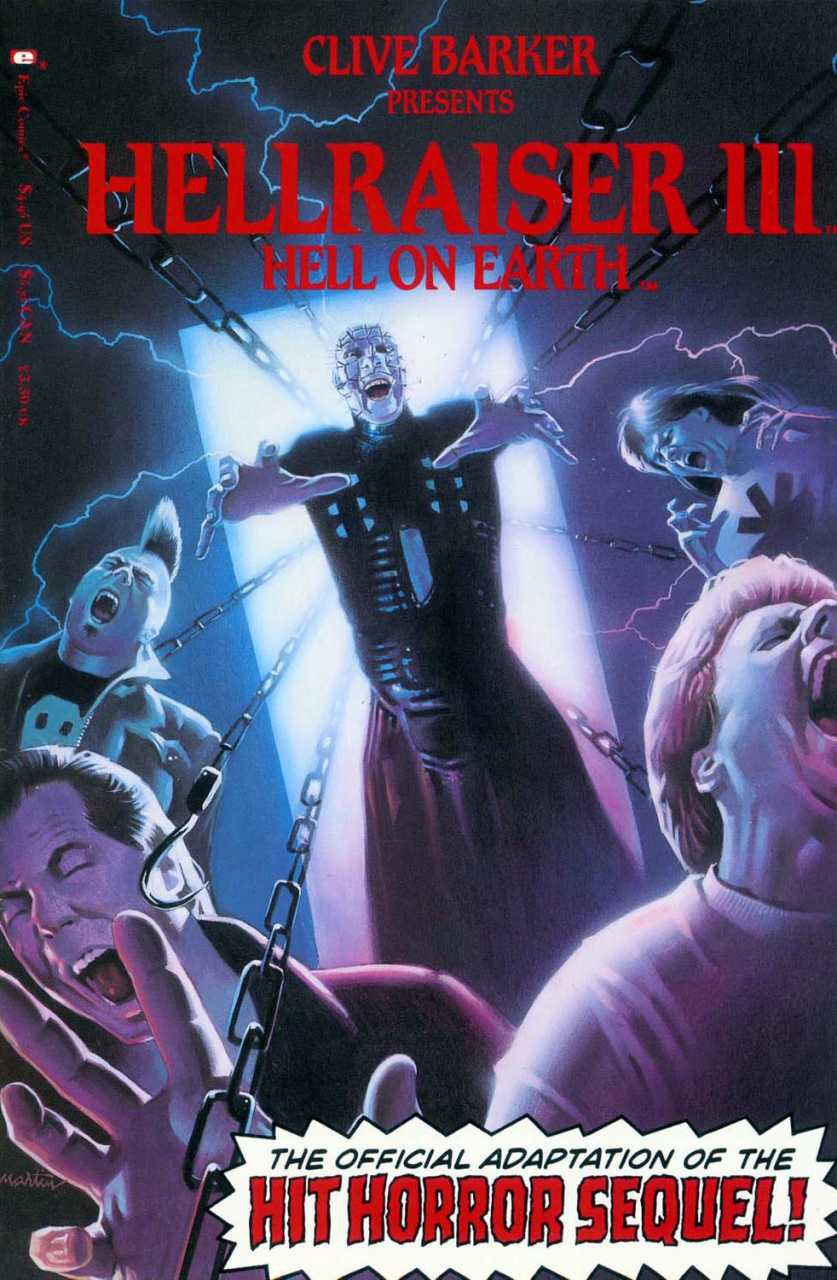 Hellraiser III: Hell on Earth Movie Special Vol 1 1