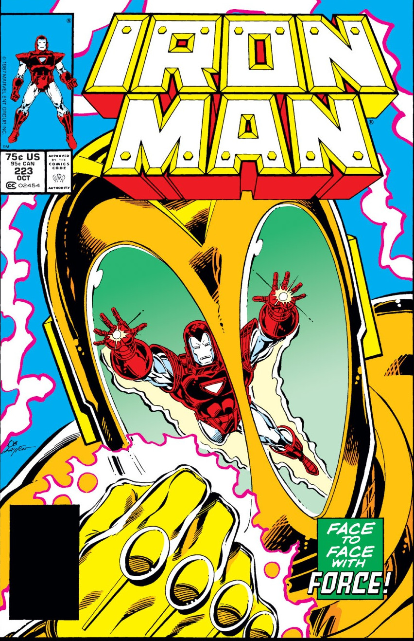 Iron Man Vol 1 223