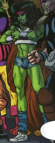 Jennifer Walters (Project Doppelganger LMD) (Earth-616) from Spider-Man Deadpool Vol 1 33 001.jpg