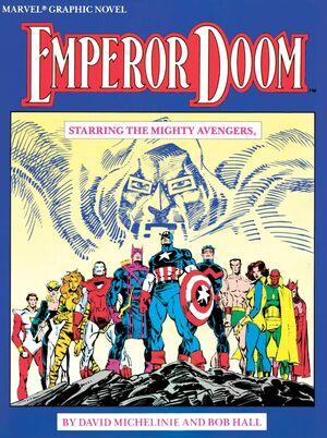 Marvel Graphic Novel Emperor Doom — Starring the Mighty Avengers Vol 1 1.jpg