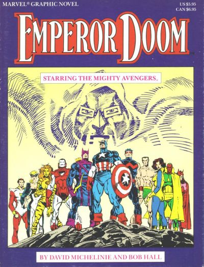 Marvel Graphic Novel: Emperor Doom — Starring the Mighty Avengers Vol 1 1