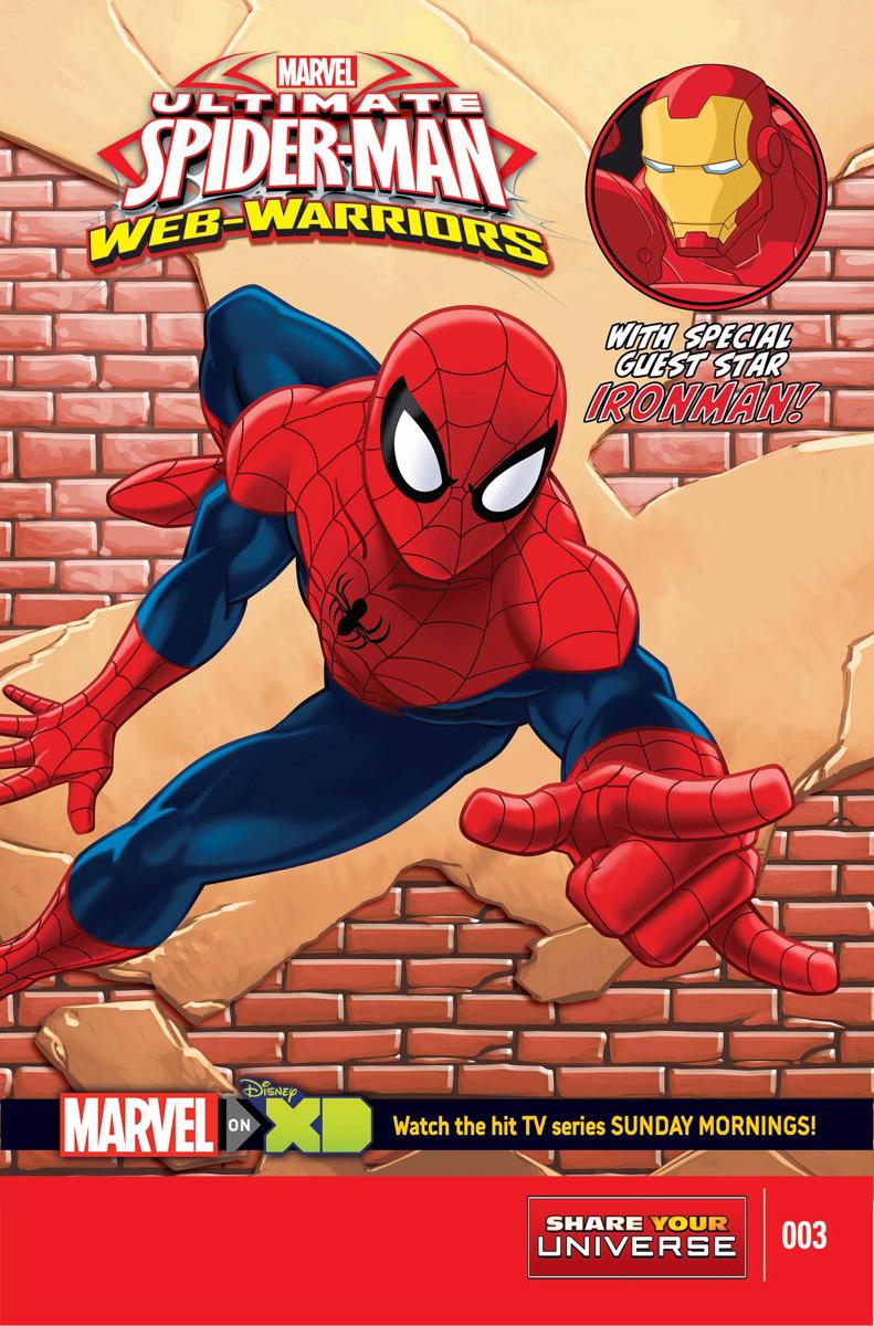 Marvel Universe Ultimate Spider-Man: Web Warriors Vol 1 3