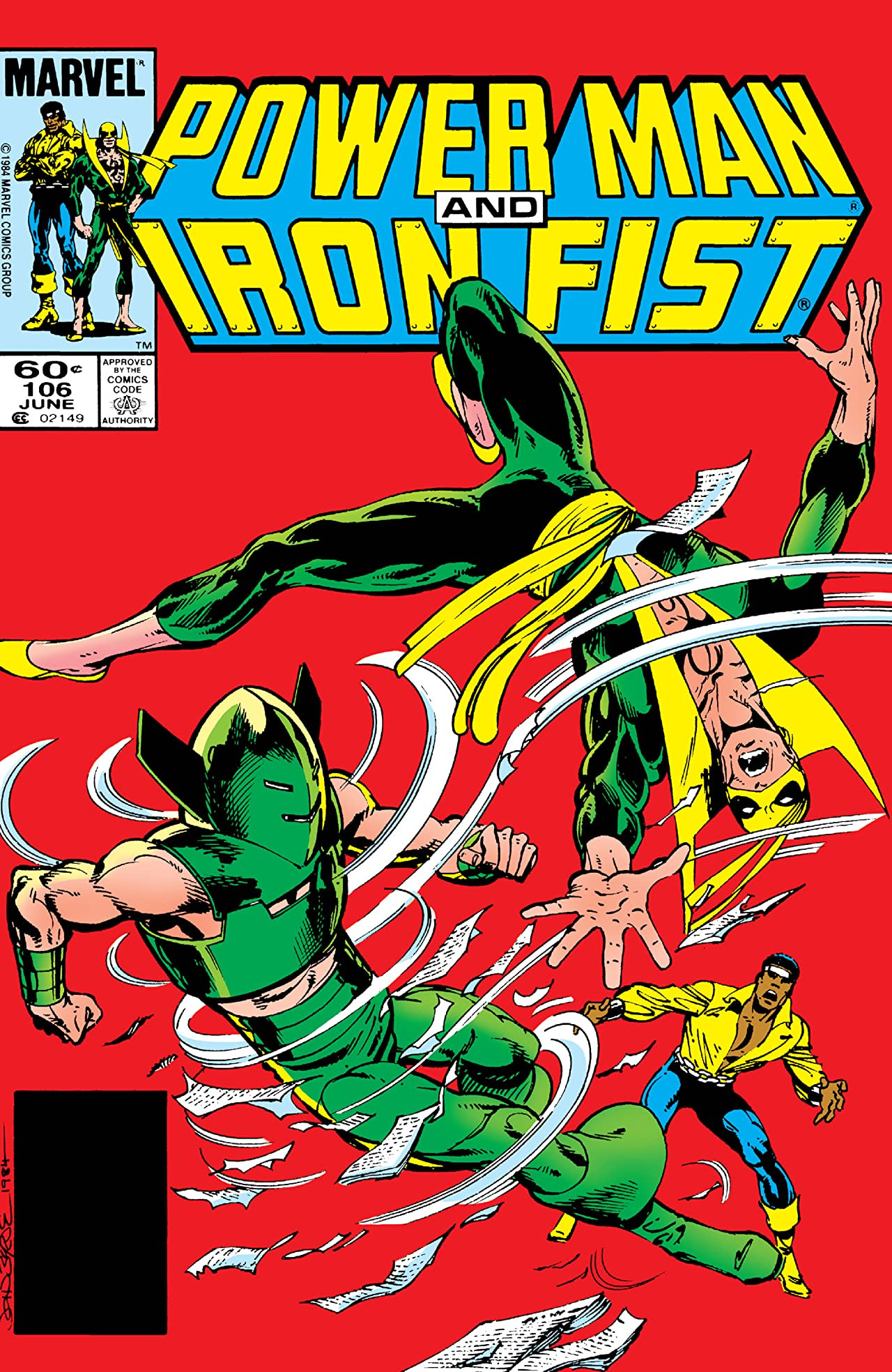Power Man and Iron Fist Vol 1 106