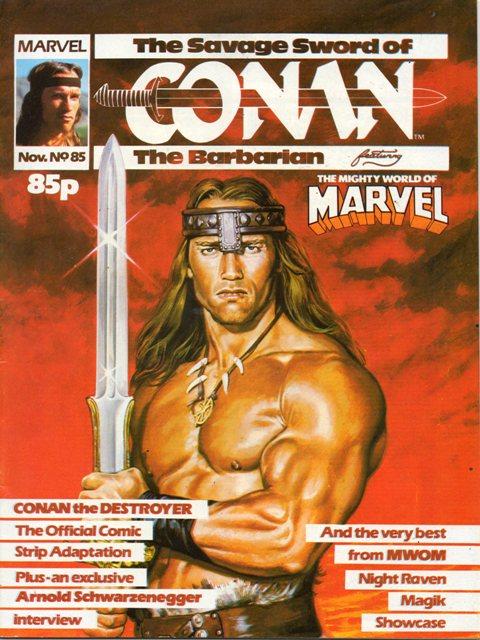 Savage Sword of Conan (UK) Vol 1