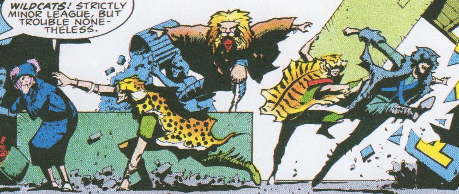Wildcats (Earth-5555)